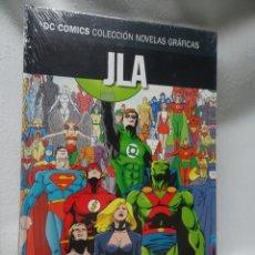 Cómics: JLA AÑO1 PARTE2, DC COMICS COL NOVELAS GRÁFICAS N11, ED SALVAT, NUEVO DE KIOSCO, VER FOTOS. Lote 178572121