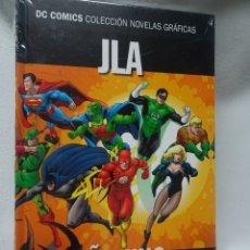 Cómics: JLA AÑO1 PARTE1, DC COMICS COL NOVELAS GRÁFICAS N10, ED SALVAT, NUEVO DE KIOSCO, VER FOTOS. Lote 178572175