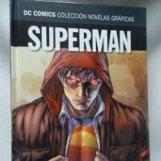 Cómics: SUPERMAN TIERRA1 PARTE1, DC COMICS COL NOVELAS GRÁFICAS N3, ED SALVAT, VER FOTOS. Lote 178573376