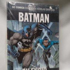 Cómics: BATMAN SILENCIO PARTE2, DC COMICS COL NOVELAS GRÁFICAS N2, NUEVO SIN ABRIR,ED SALVAT, VER FOTOS. Lote 178573517