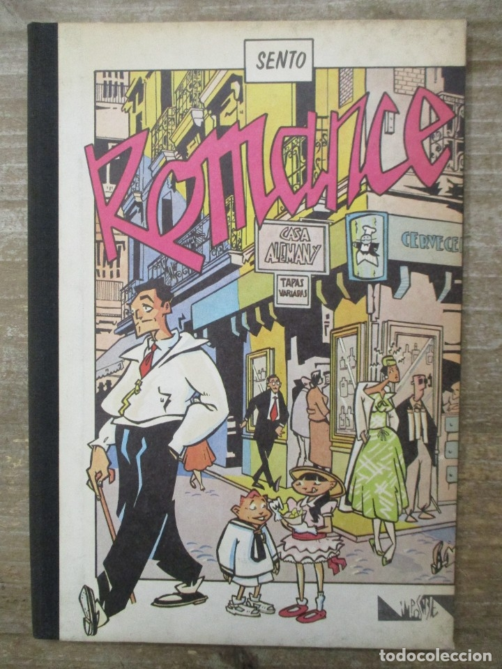 ROMANCE - SENTO - ARREBATO EDITORIAL - COL. IMPOSIBLE Nº 2 (Tebeos y Comics - Comics otras Editoriales Actuales)
