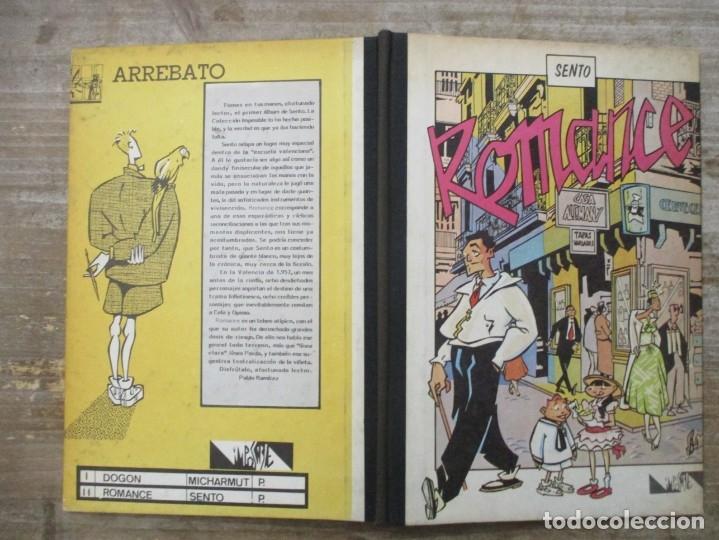 Cómics: ROMANCE - SENTO - ARREBATO EDITORIAL - COL. IMPOSIBLE Nº 2 - Foto 2 - 178656496
