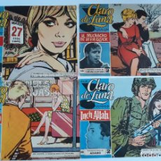 Cómics: LOTE 18 REVISTAS. REVISTA JUVENIL FEMENINA CLARO DE LUNA. AÑOS 60. W. Lote 178686337