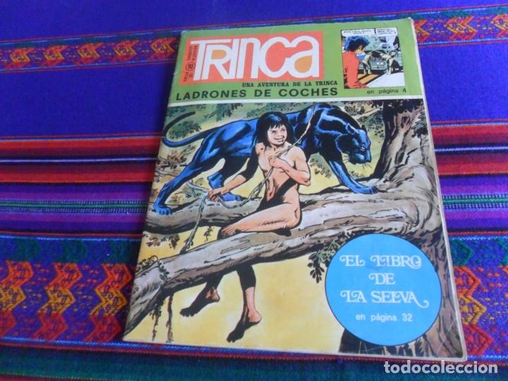 Cómics: TRINCA Nº 2 CON LOS 24 CROMOS DE LA CONQUISTA DEL CIELO. DONCEL 1970. 25 PTS. DIFÍCIL - Foto 2 - 178747380
