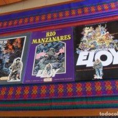 Cómics: IMÁGENES DE LA HISTORIA 1 ELOY 2 RÍO MANZANARES Y 4 1936 EUSKADI EN LLAMAS. IKUSAGER 1979. BE. RAROS. Lote 178747815