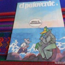 Cómics: EL PATOVERDE Nº 8. MOPU 1986. DIRECCIÓN GENERAL DEL MEDIO AMBIENTE. MEDITA EL MEDITERRÁNEO. BE. RARO. Lote 178748493