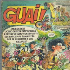 Cómics: 11 COMICS GUAI N,164,160,130,105,104,72,55,54,29,9 Y 4,EDITA TEBEOS S.A. 1989. Lote 178832293
