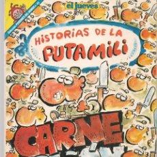 Cómics: EL JUEVES. PENDONES DEL HUMOR. Nº 45. HISTORIAS DE LA PUTA MILI. IVÁ. (P/B1). Lote 178891661