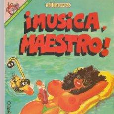 Cómics: EL JUEVES. PENDONES DEL HUMOR. Nº 59. ¡MÚSICA, MAESTRO!. PROFESOR COJONCIANO. (P/B1). Lote 178893273