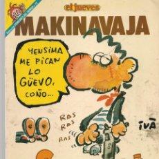 Cómics: EL JUEVES. PENDONES DEL HUMOR. Nº 73. MAKINAVAJA. NOSOMOSNÁ. (P/B1). Lote 178893827