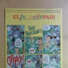 Cómics: EL PEQUEÑO PAIS - Nº 771 - 8 SEPTIEMBRE 1996. Lote 178921540