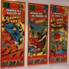 Cómics: PULGARCITO SUPLEMENTO DE AVENTURAS N 28 N 39 N 30. Lote 178922078