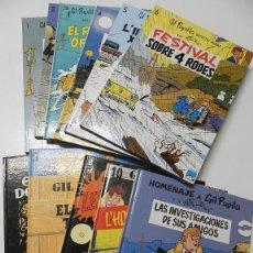 Cómics: GIL PUPIL·LA. LOS 10 TOMOS DE ED. CASALS EN CATALÁN + HOMENAJE A GIL PUPILA. Lote 178943746
