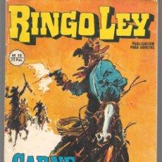 Cómics: RINGO LEY. Nº 18. CARNE DE HORCA. EDICIONES ALONSO, 1979, (C/A52). Lote 178954687