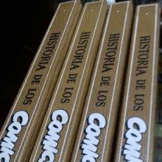 Cómics: HISTORIA DE LOS COMICS. JAVIER COMA. 4 VOLUMENES. TAPA DURA.. Lote 178954735