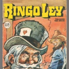 Cómics: RINGO LEY. Nº 22. ELECCIONES EN PASS RIVER. EDICIONES ALONSO, 1979, (C/A52). Lote 178954767