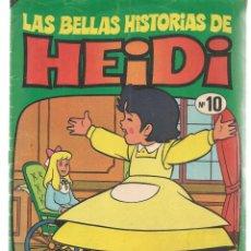 Cómics: LAS BELLAS HISTORIAS DE HEIDI. Nº 10. HEIDI EN FRANCFORT. BRUGUERA, 1976. (C/A52). Lote 178956112
