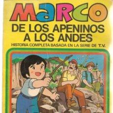 Cómics: MARCO, DE LOS APENINOS A LOS ANDES. Nº 2. HOY IREMOS AL MAR. BRUGUERA, 1977. (C/A52). Lote 178956197