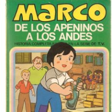 Cómics: MARCO, DE LOS APENINOS A LOS ANDES. Nº 3. MI AMIGO EMILIO. BRUGUERA, 1977. (C/A52). Lote 178956267
