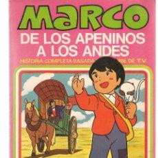 Cómics: MARCO, DE LOS APENINOS A LOS ANDES. Nº 7. ¿DONDE ESTAS, MAMA?. BRUGUERA, 1977. (C/A52). Lote 178956798