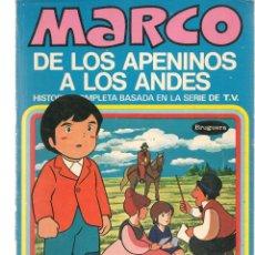 Cómics: MARCO, DE LOS APENINOS A LOS ANDES. Nº 8. LAS LÁGRIMAS DE FIORINA. BRUGUERA, 1977. (C/A52). Lote 178956860