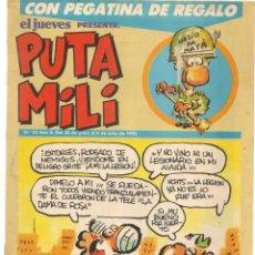 Cómics: PUTA MILI. Nº 53. 6 JULIO 1993. EDICIONES EL JUEVES. (C/A52). Lote 178957148