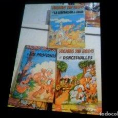 Cómics: YALAHAS PIFF IADDO 1 LA LIBERACIÓN DE OMAR 2 EN RONCESVALLES Y 4 LOS PRÓFUGOS SAXE 1980 PORTE GRATIS. Lote 179000837