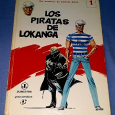 Cómics: LOS PIRATAS DE LOKANGA Nº 1 PRIMERA EDICION AÑO 1969 DE JAIMES LIBROS ORIGINAL. Lote 179001791