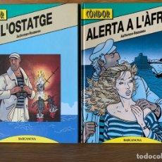 Cómics: CONDOR - COMPLETA EN 3 TOMOS TAPA DURA - CATALÁN. Lote 179002835