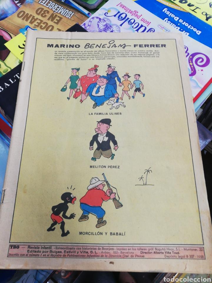 MARINO Y BENJAMIN FERRER (LA FAMILIA ULISES, MILITO PÉREZ Y MORCILLO BALIN, AÑO 1958 (Tebeos y Comics Pendientes de Clasificar)