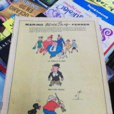 Cómics: MARINO Y BENJAMIN FERRER (LA FAMILIA ULISES, MILITO PÉREZ Y MORCILLO BALIN, AÑO 1958. Lote 179023923