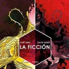 Cómics: LA FICCIÓN - ASTIBERRI - DAVID RUBÍN Y CURT PIRES. Lote 179067806