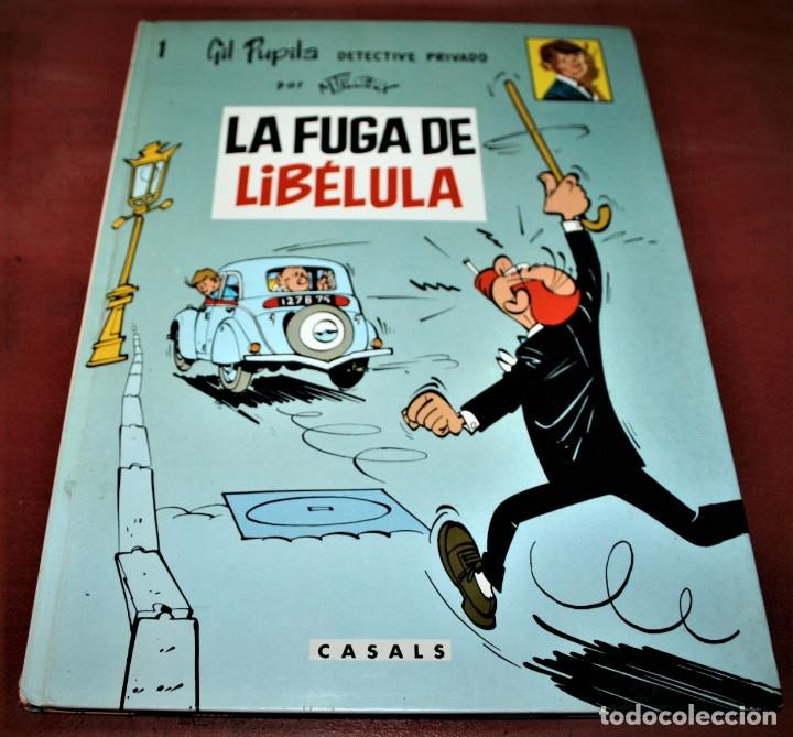 GIL PUPILA - LA FUGA DE LIBÉLULA - MILLIEUX - ED.CASALS - 1987 (Tebeos y Comics - Comics otras Editoriales Actuales)