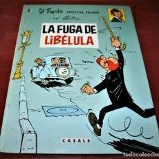 Cómics: GIL PUPILA - LA FUGA DE LIBÉLULA - MILLIEUX - ED.CASALS - 1987. Lote 179076947