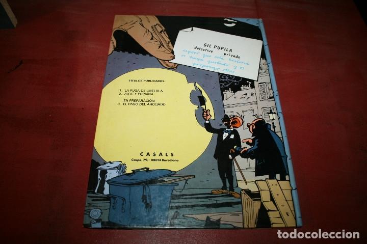 Cómics: GIL PUPILA - LA FUGA DE LIBÉLULA - MILLIEUX - ED.CASALS - 1987 - Foto 4 - 179076947