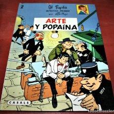 Cómics: GIL PUPILA - ARTE Y POPAÍNA - MILLIEUX - ED.CASALS - 1987. Lote 179077005