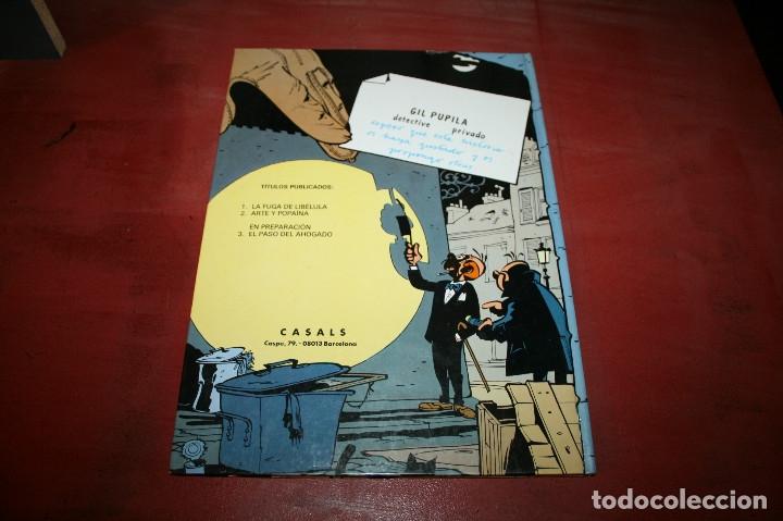Cómics: GIL PUPILA - ARTE Y POPAÍNA - MILLIEUX - ED.CASALS - 1987 - Foto 4 - 179077005