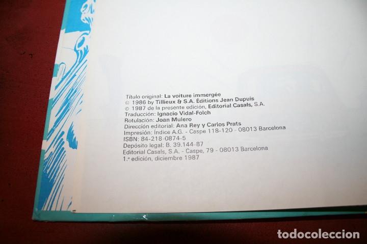 Cómics: GIL PUPILA - EL PASO DEL AHOGADO - MILLIEUX - ED.CASALS - 1987 - Foto 2 - 179077070