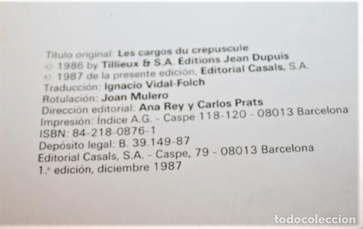 Cómics: GIL PUPILA - LOS BARCOS DEL CREPÚSCULO - MILLIEUX - ED.CASALS - 1987 - Foto 3 - 179077113