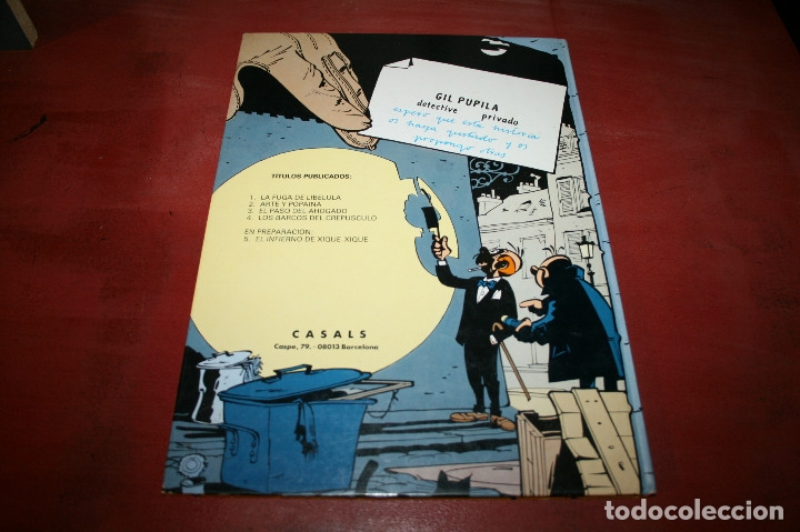 Cómics: GIL PUPILA - LOS BARCOS DEL CREPÚSCULO - MILLIEUX - ED.CASALS - 1987 - Foto 5 - 179077113