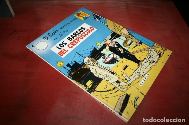 Cómics: GIL PUPILA - LOS BARCOS DEL CREPÚSCULO - MILLIEUX - ED.CASALS - 1987 - Foto 6 - 179077113