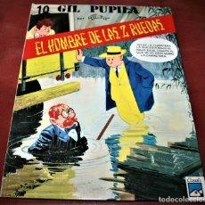 Cómics: GIL PUPILA - EL HOMBRE DE LAS DOS RUEDAS - MILLIEUX - ED.CASALS - 1991. Lote 179077160
