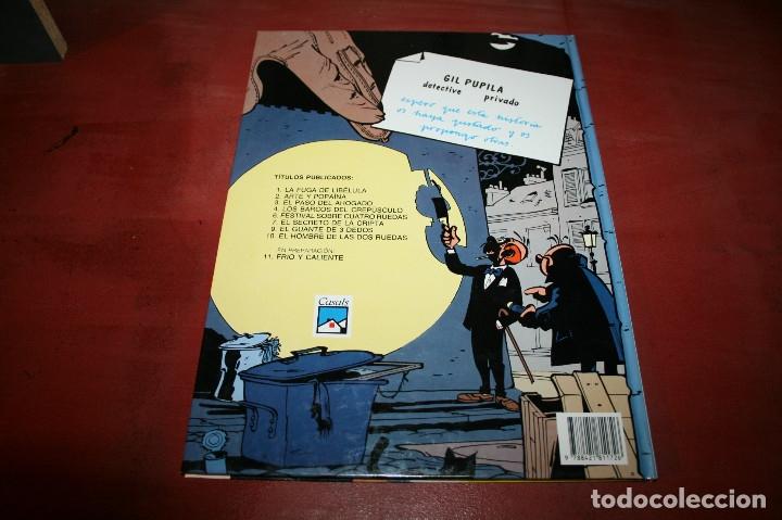 Cómics: GIL PUPILA - EL HOMBRE DE LAS DOS RUEDAS - MILLIEUX - ED.CASALS - 1991 - Foto 4 - 179077160