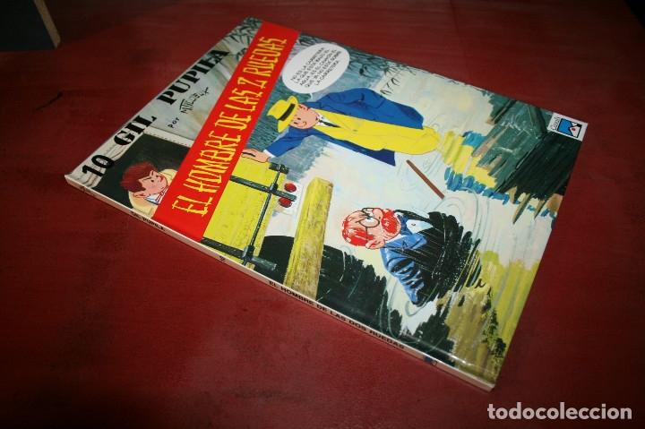 Cómics: GIL PUPILA - EL HOMBRE DE LAS DOS RUEDAS - MILLIEUX - ED.CASALS - 1991 - Foto 5 - 179077160