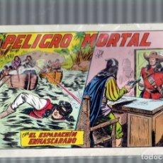 Cómics: EL ESPADACHIN ENMASCARADO N,25,26 Y 27,SEGUNDA EDICION,EDITORIAL VALENCIANA 1981. Lote 179153782