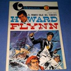 Cómics: EL PRIMER VIAJE DEL TENIENTE HOWARD FLYNN DE WILLIAM VANCE VIDORAMA Nº 3 JAIMES LIBROS AÑO 1968. Lote 179172303