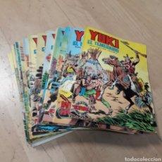 Cómics: YUKI, EL TEMERARIO, EDIVAL, NÚMEROS 1 AL 22. Lote 179191636