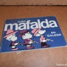 Cómics: MAFALDA EN GALEGO GALLEGO. QUINO. EDITADO POR SOUTO. 1988. NÚMERO 5. Lote 179192692