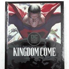 Cómics: KINGDOM COME (EDICIÓN BLACK LABEL) - MARK WAID, ALEX ROSS - ECC CÓMICS. Lote 179227331