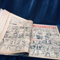 Comics : 16 AVENTURAS Y AMENIDADES DE LA PRENSA INICIOS DE F IBAÑEZ TOUTAIN GRAU SEGURA IBARRA 1954. Lote 179233158